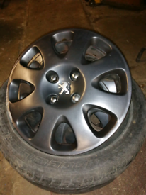 Peugeot 308 rims and winter tyres