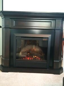 Electric FirePlace with heat
