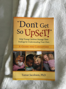 """""""Don't Get So Upset!"""" Book For Sale!"""