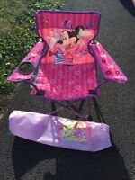Toddler Minnie Mouse camping chair