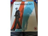 Complete fifth series of Mentalist.