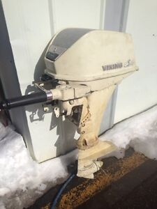 Viking 6 hp outboard motor engine