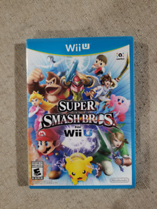 Super Smash Bros. Wii U *MINT*