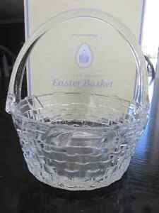 Williams Sonoma Easter Basket & Vintage Genuine Alabaster Eggs Cambridge Kitchener Area image 1