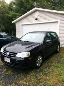 2008 VW City Golf +Kenwood sound system+ winter tires on rims!