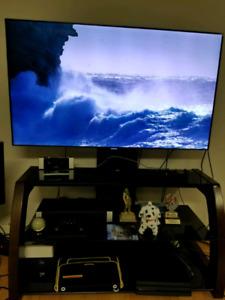Samsung smart tv + tv stand