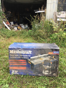 Mastercraft Router with Table Combo Kit- Still in Box