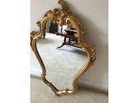Lovely Decorative gilt mirror