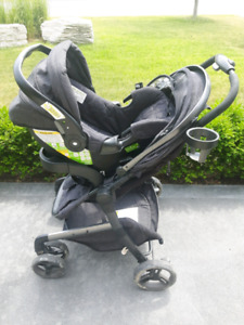 LUX infant travel system and stroller.