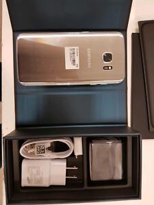 Brand new Samsung s7 edge silver unlocked!!