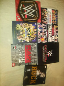 WRESTLING BOOKS FOR SALE WWE WWF ECW WCW
