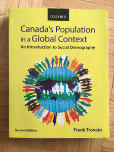 Canada's Population in a Global Context: TEXTBOOK