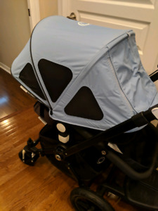 Bugaboo Cameleon 2 All Black with tons of extras!