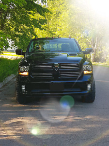 Blacked out 2016 dodge ram sport