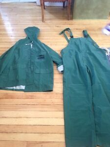 Small Rain Jacket and Overalls