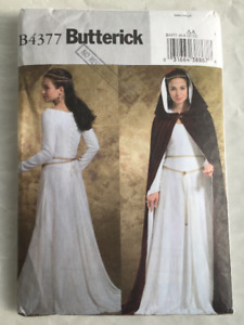 Butterick Patterns B4377 Misses' Costumes, Size AA (6-8-10-12)