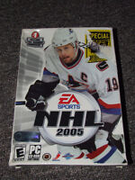 EA Sports NHL 2005 - PC - SEALED !!! - $5.00
