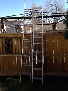 Extension ladders x2
