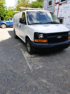 Chevy express 1500. With portable welder