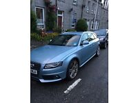 Audi A4 Avant - 12 Months MOT, Blue S Line Estate , 80,000miles, excellent condition