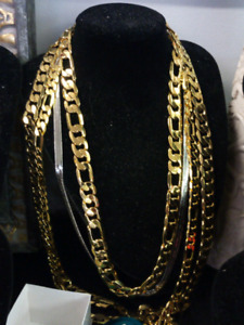 Assorted Gold Plated Chains