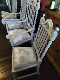 Go on, Make an offer! 4 Lovely Dining chairs