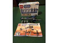 Star Wars Lego republic swap Speeder