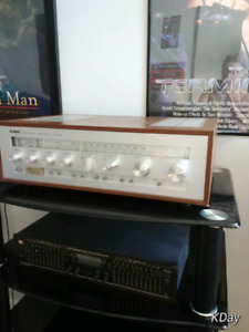 Yamaha CR-820 reciever and Dynaco A25 speakers