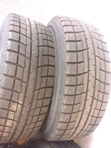 4 snow tires & Rims 205/60 R16 92T IG 52