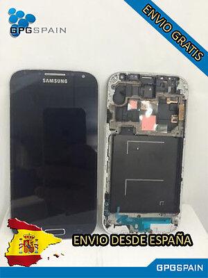 PANTALLA SAMSUNG GALAXY S4 I9506 COMPLETA NEGRA(LCD+PANEL TACTIL+MARCO) MRW 24H