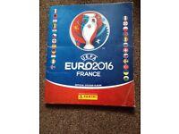 Euro panini sticker swaps