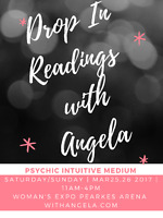 Drop In Readings- Angela- Psychic Medium- Woman's Expo!