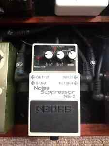 Boss Noise Suppressor pedal
