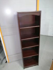 Slim Mahagony bookcase
