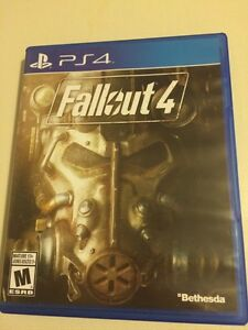 PS4 Fallout 4 Mint Condition!