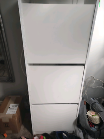 IKEA Bissa shoes storage/cabinet in white in really good condition