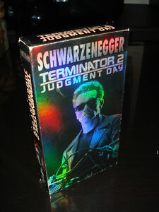 VHS-ORIGINAL-TERMINATOR 2-JUDGMENT DAY-FILM/MOVIE