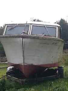 1957 Chris Craft wooden boat, winter project  London Ontario image 2