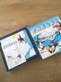 Vintage penguin game