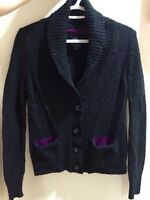 Women's button up cardigan sweater