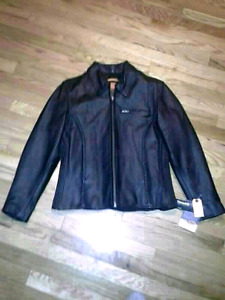 Leather Motorcycle Riding Jackets and Pants (Benefits SPCA)