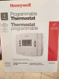 Brand new inbox programmable thermostat