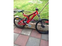 Specialized big hit comp fsr... Offers or Swap for ped or 125 road bike