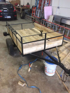 4x6 Utility Trailer Has Papers