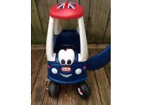 Little tikes coupe car