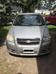2008 Chevy Aveo + Winter Tires and Rims