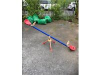 See saw for children