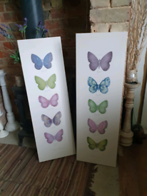 BUTTERFLY CANVAS X 2 FREE