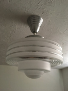 Retro Style Ceiling Light - Stainless - From a Zellers Store