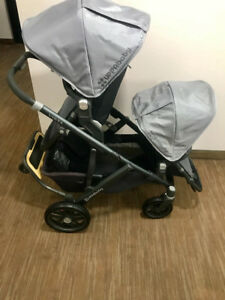 2015 UPPAbaby Vista twin with rumble and piggy board